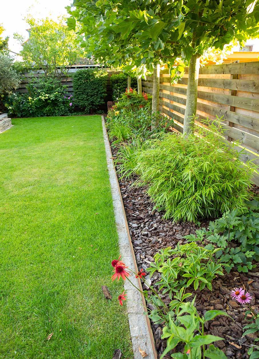 Romantischer Garten Zaun
